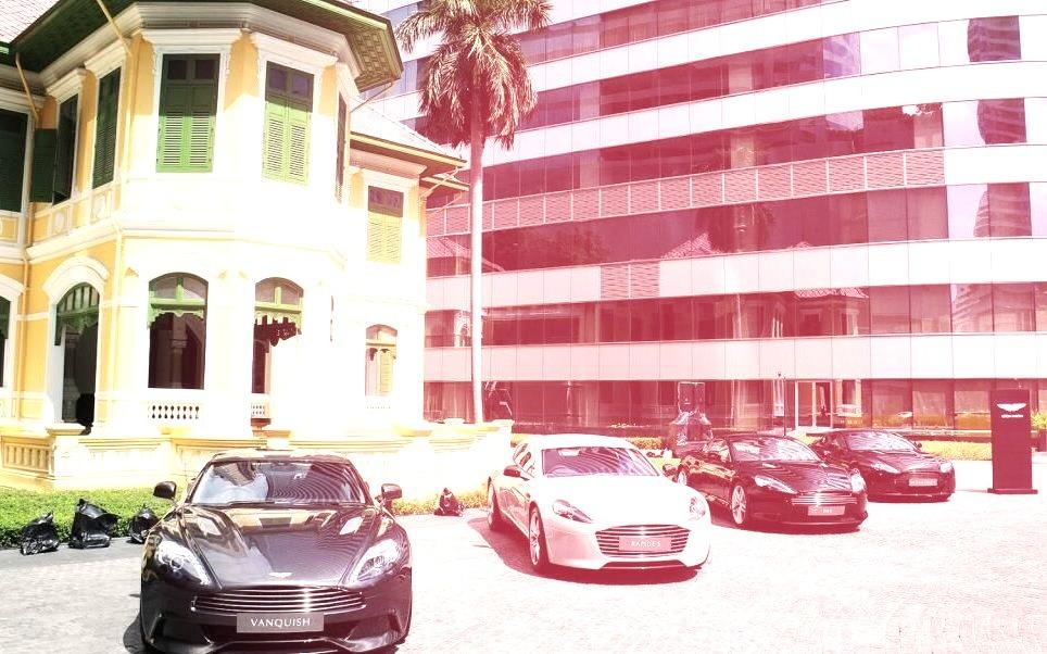 Aston Martins in Bangkokwww.DiscoverLavish.com