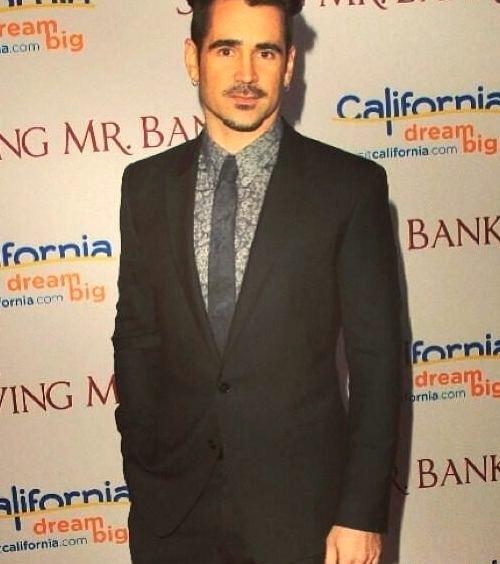 Colin Farrell wearing Dolce & Gabannawww.DiscoverLavish.com