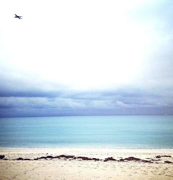 Incoming flight 2014. #happynewyear (at The Mar-a-lago Club)