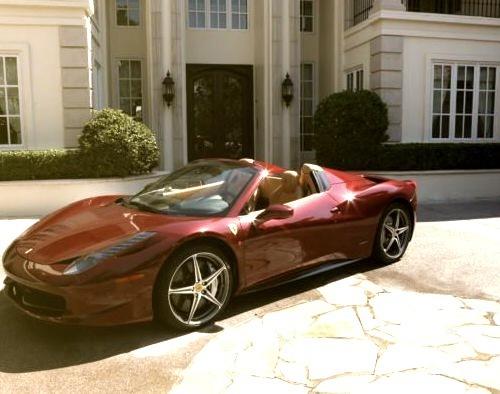 Red Ferrariwww.DiscoverLavish.com