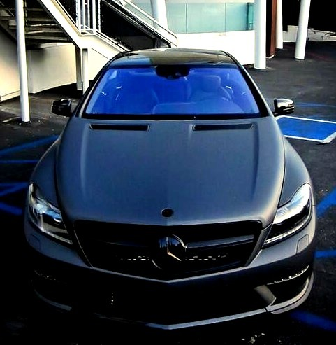 Matte Black New Mercedes