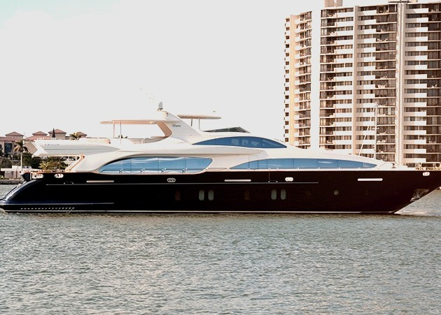 Luxury Super Yacht on the Water