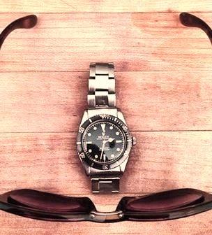 Rolex and Sunglasses