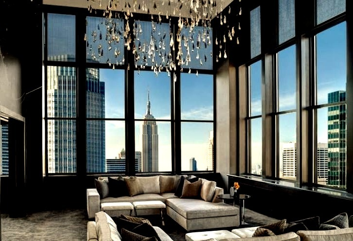 Luxury Apartment NYC Skyline View
