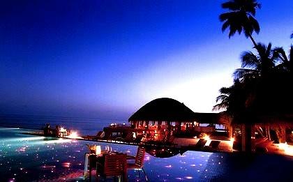 Luxury Resort at Night Time